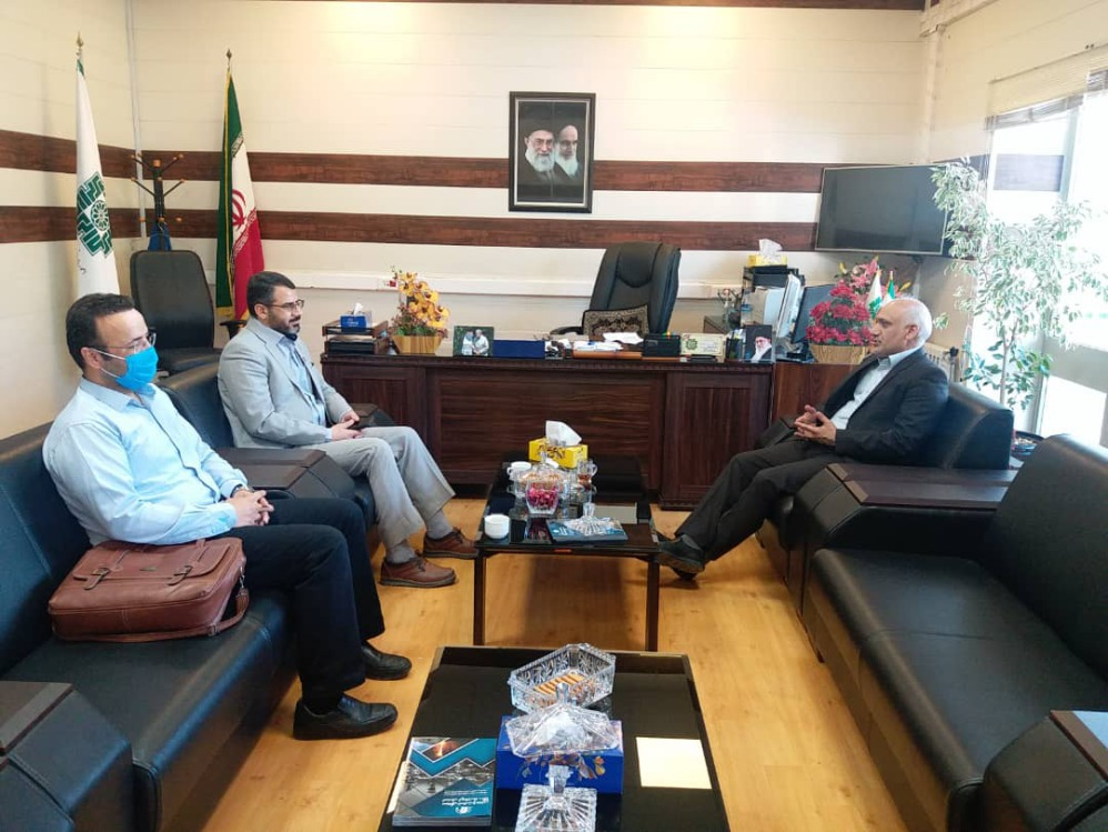 نشست مشترک مدیر عامل و مسئول امور مالی نیروگاه با مدیر کل امور مالیاتی استان کرمانشاه
