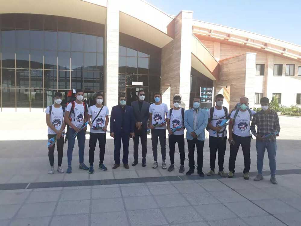 مراسم استقبال از قهرمانان دوچرخه سواری استان کرمانشاه برگزار گردید